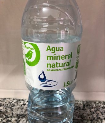 Agua mineral natural - Product - fr
