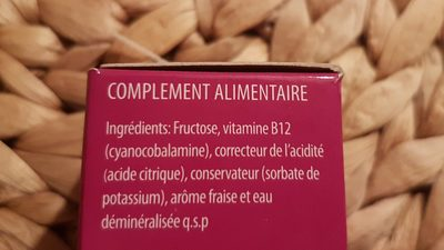 Vitamine B12 - Ingredients