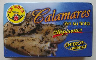 Calamares en su tinta - chipirones - Produit - fr