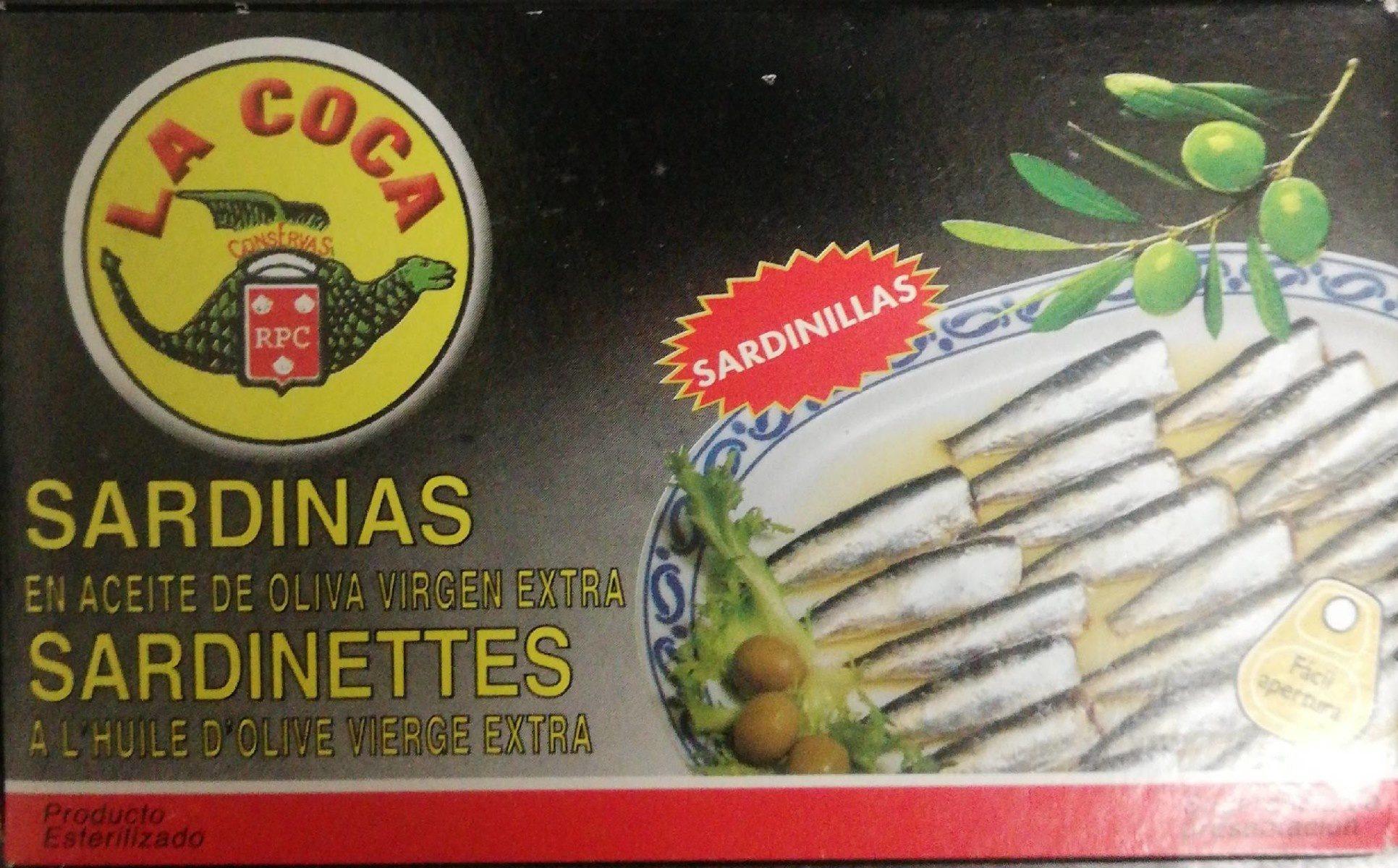 Sardinas en aceite de oliva virgen extra - Product