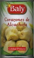 Corazones de alcachofa en conserva - Producto