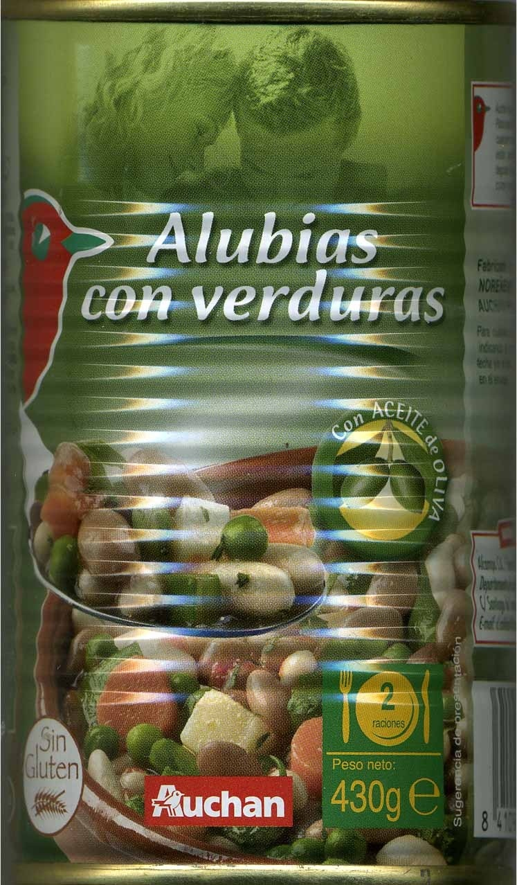 Alubias con verduras - Produit