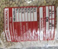 Verdina Lenteja - calidad extra - legumbre tierna - Información nutricional - es