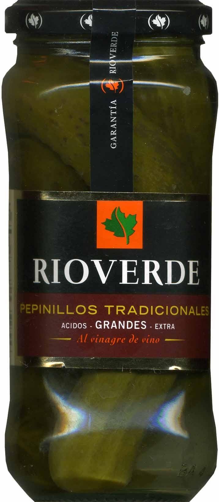 Pepinillos en vinagre frasco 180 g - Produit