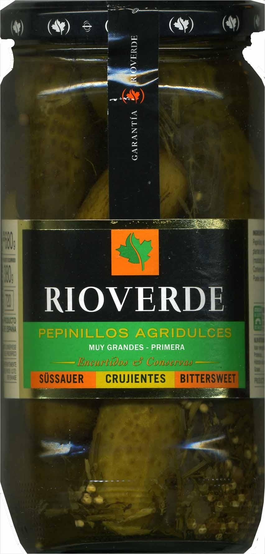 Pepinillos Agridulces Rioverde - Product - es
