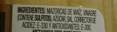 Rioverde Mazorquitas Maiz 170 g - Ingredients - es