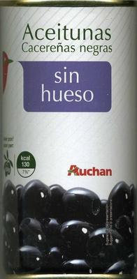 Olives noires dénoyautées - Product