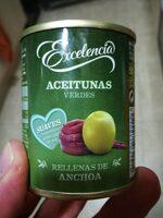 Aceitunas verdes - Produit - es