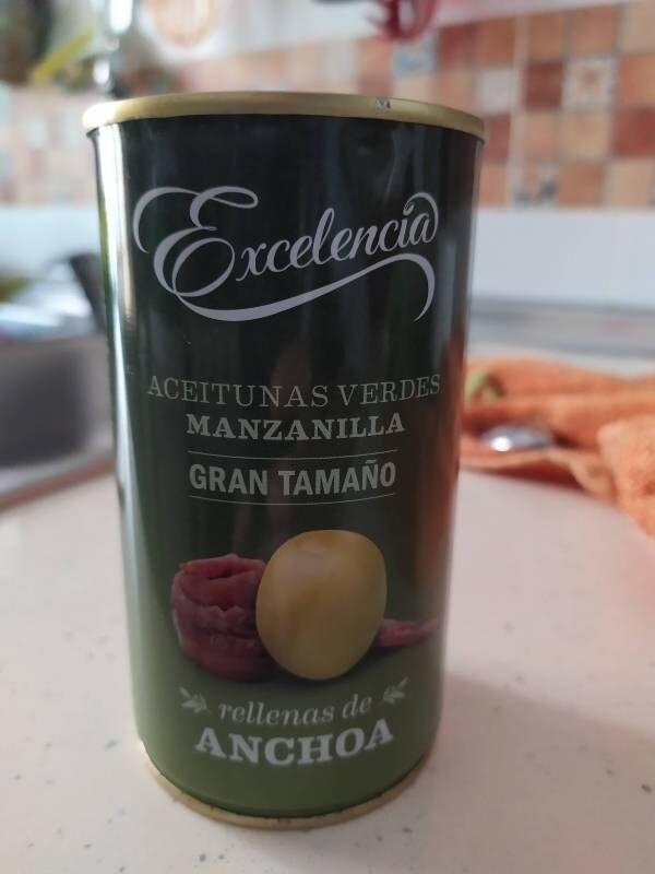 Aceitunas manzanilla rellenas - Produit - es