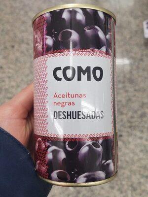 Aceitunas NEGRAS Deshuesadas - Product - es