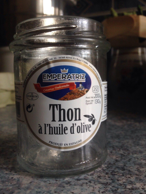 Thon a l'huile d'olive - Prodotto - fr