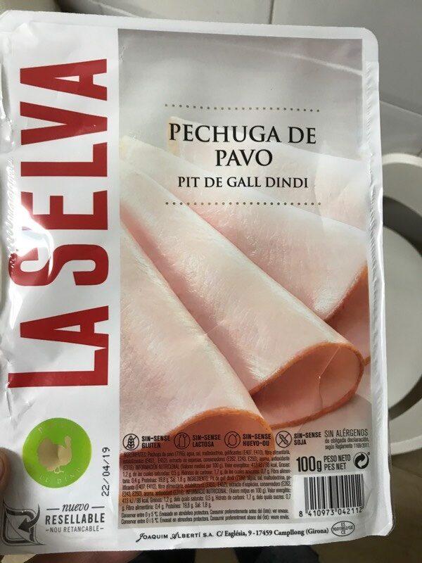 Pechuga de pavo - Produit - es