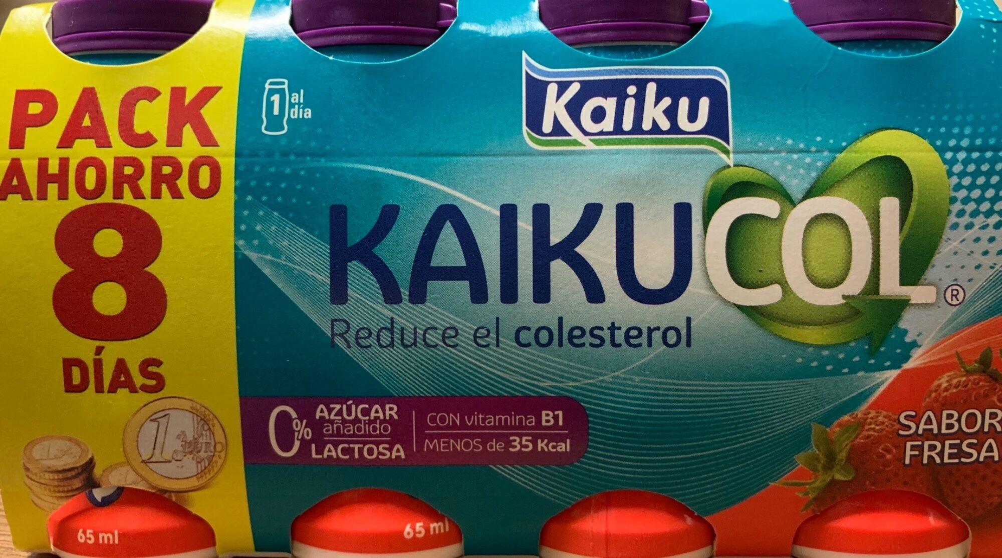 Kaikucol sabor fresa - Product - es