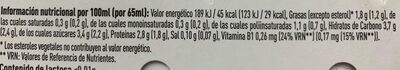 Kaikucol sabor fresa - Informations nutritionnelles