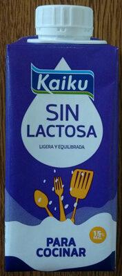 Sin Lactosa nata líquida para cocinar - Produit - es