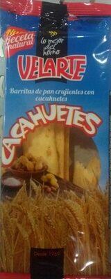 Barritas de pan crujientes con cacahuetes - Product