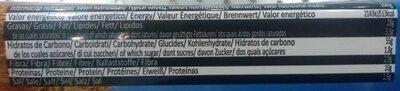 Barritas de pan crujientes con cacahuetes - Nutrition facts - es