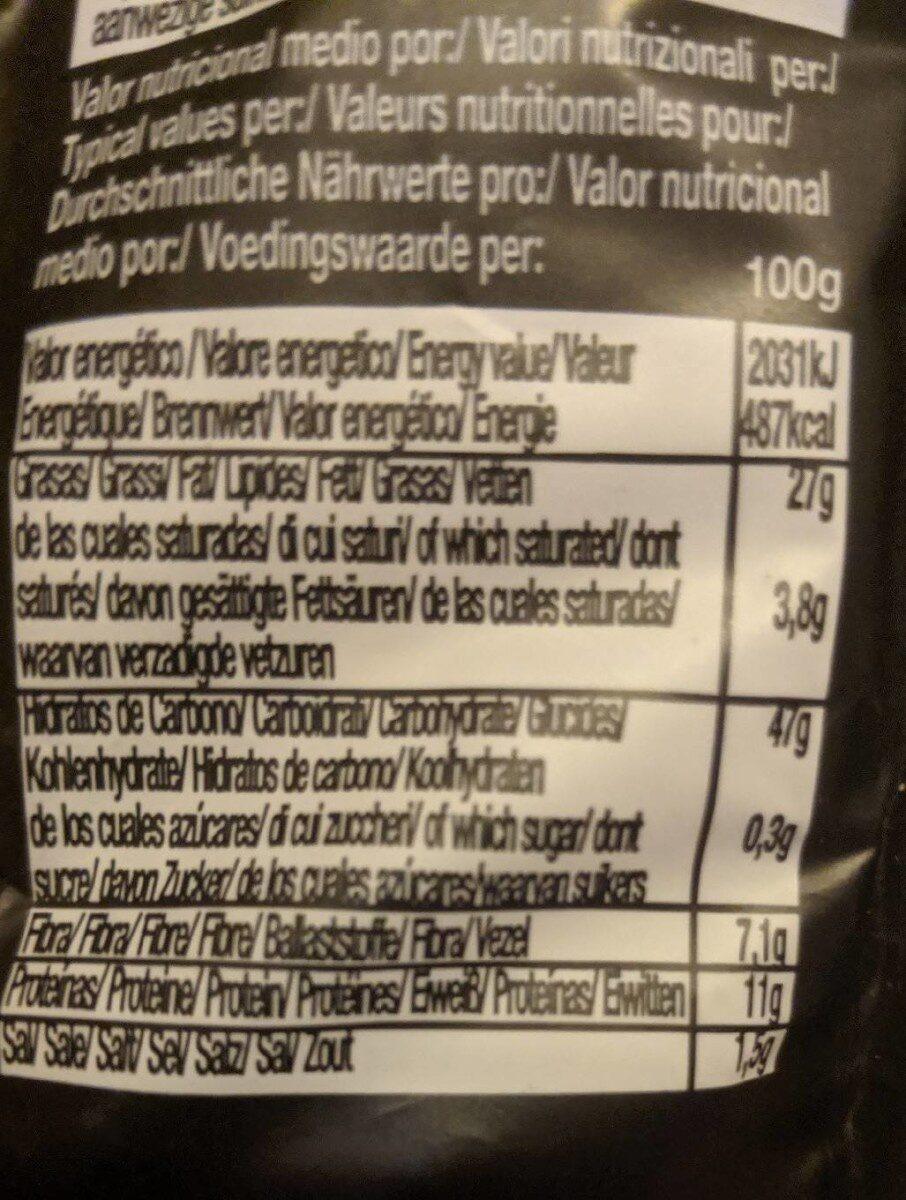 Snackium Velarte de Quinoa - Informations nutritionnelles