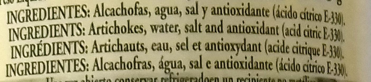 Carne de alcachofas - Ingrédients - es