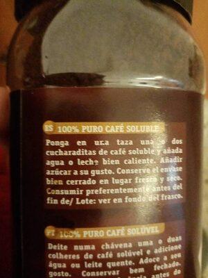 Cafeto - Ingredients