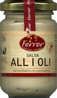 "Salsa alioli ""Ferrer"" - Producte"