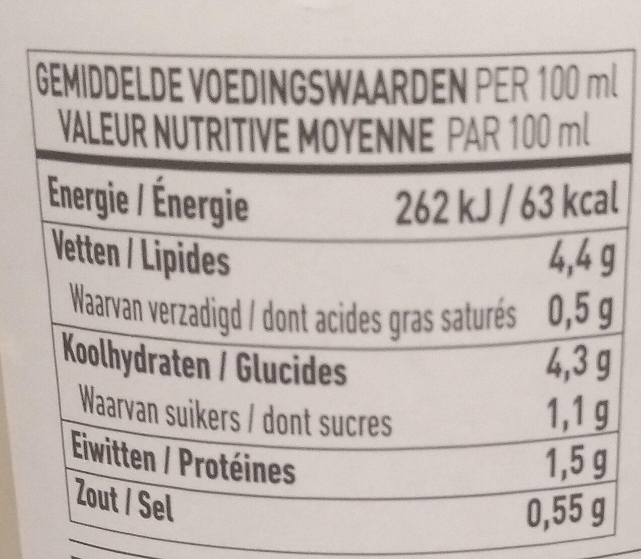 Gazpacho Wit - Voedingswaarden - nl