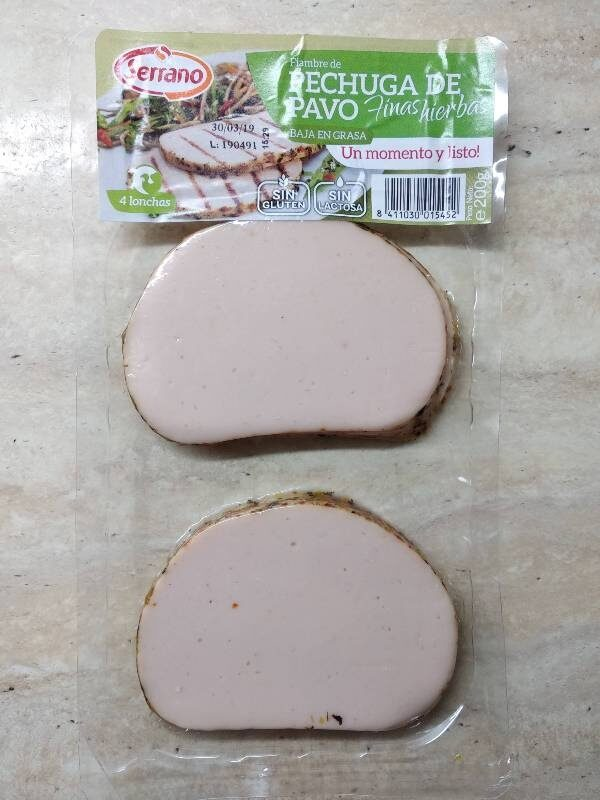 Pechuga de pavo a las finas hierbas baja grasa - Produit - es