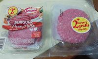 Burger meat 4UDS Mixta Pavo+Pollo - Producto