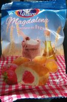 madeleines à la fraise - Produit