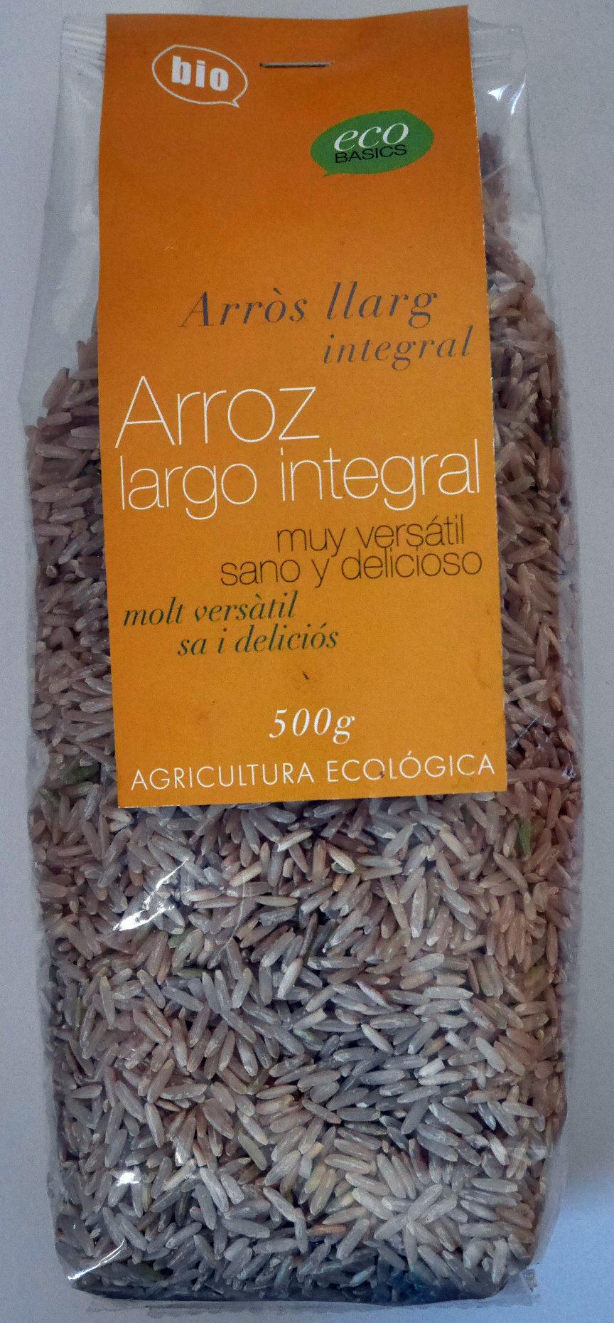 Arroz largo integral bio - Producto - es