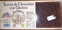 Turrón de chocolate y quinoa - Producto