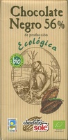 Chocolate negro 56% cacao - Producte - es