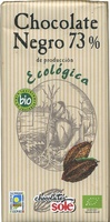 Tableta de chocolate negro 73% cacao - Produit - es