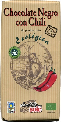 Tableta de chocolate negro con chili 73% cacao - Produit - es