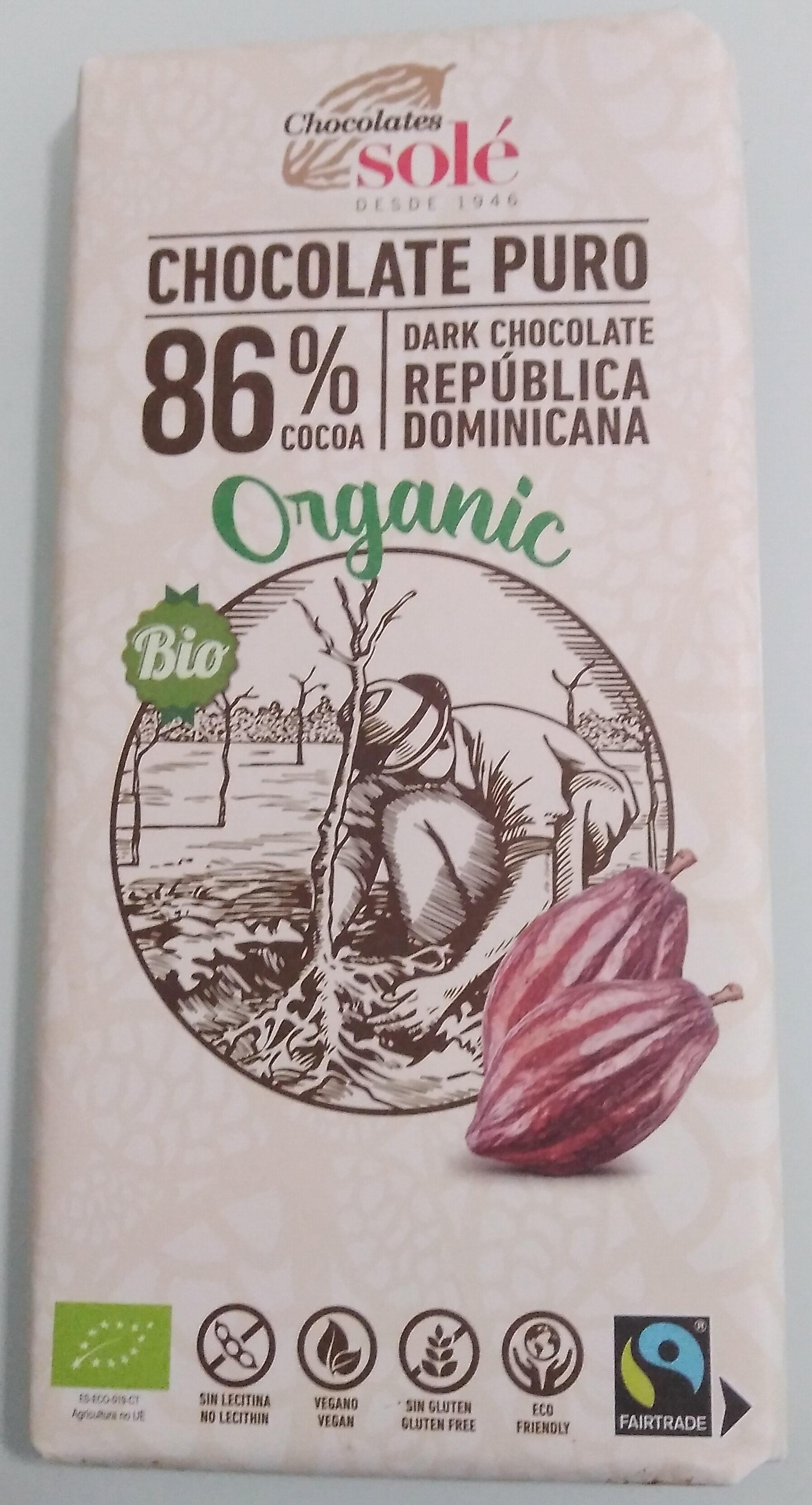 Chocolate negro ecológico - Producto - es