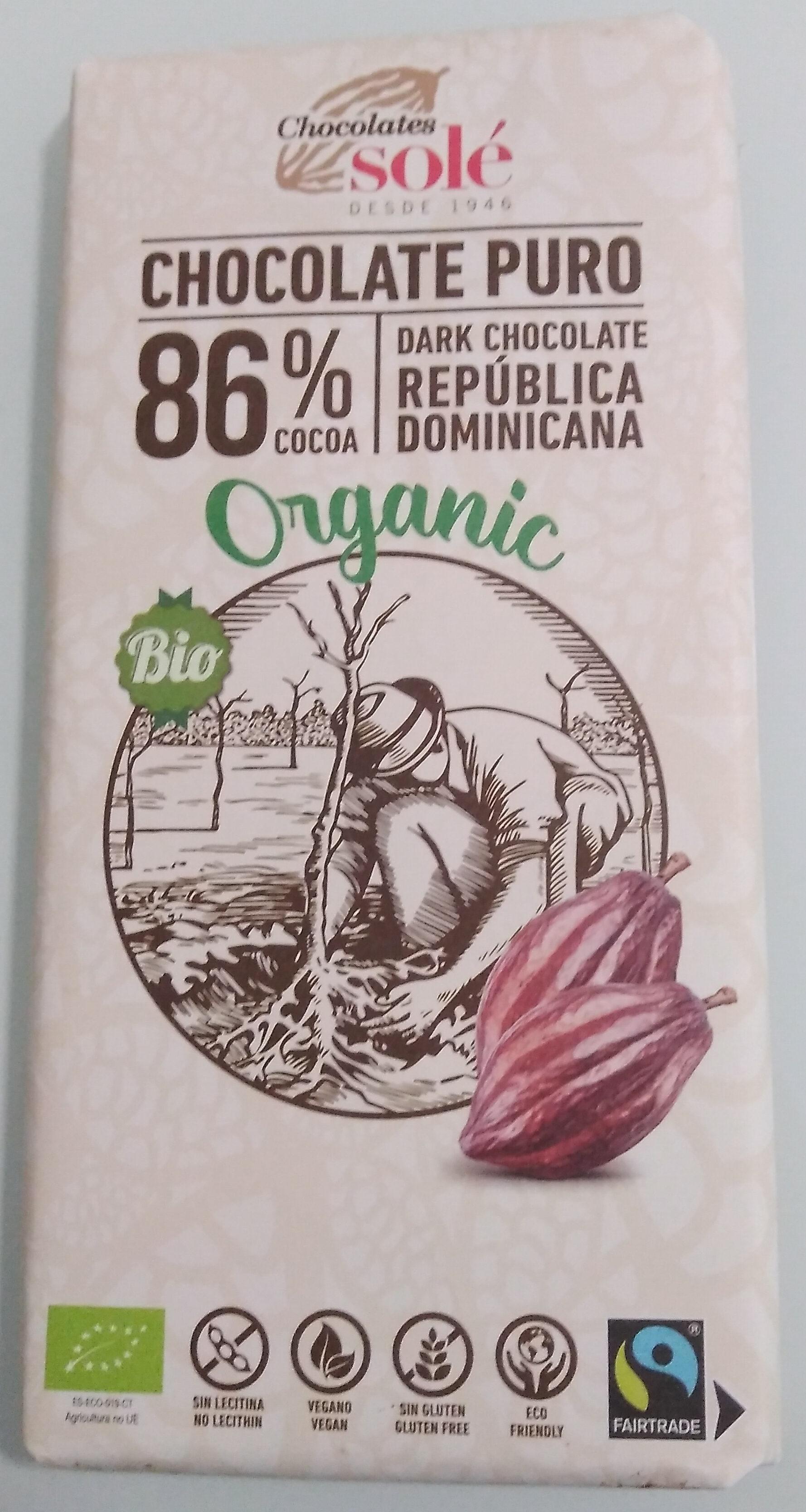 Chocolate negro ecológico - Produit - fr