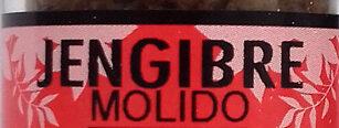 Jengibre molido - Ingredients - es