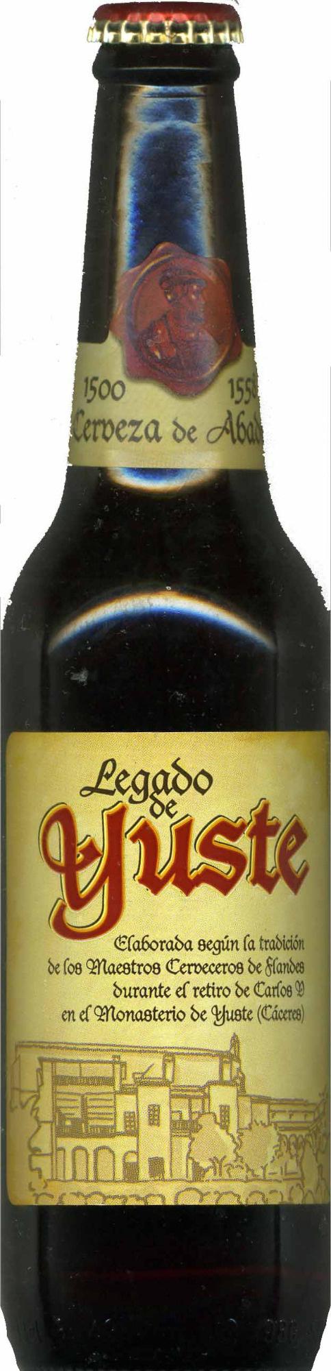 """Cerveza """"Legado de Yuste"""" - Product - es"""