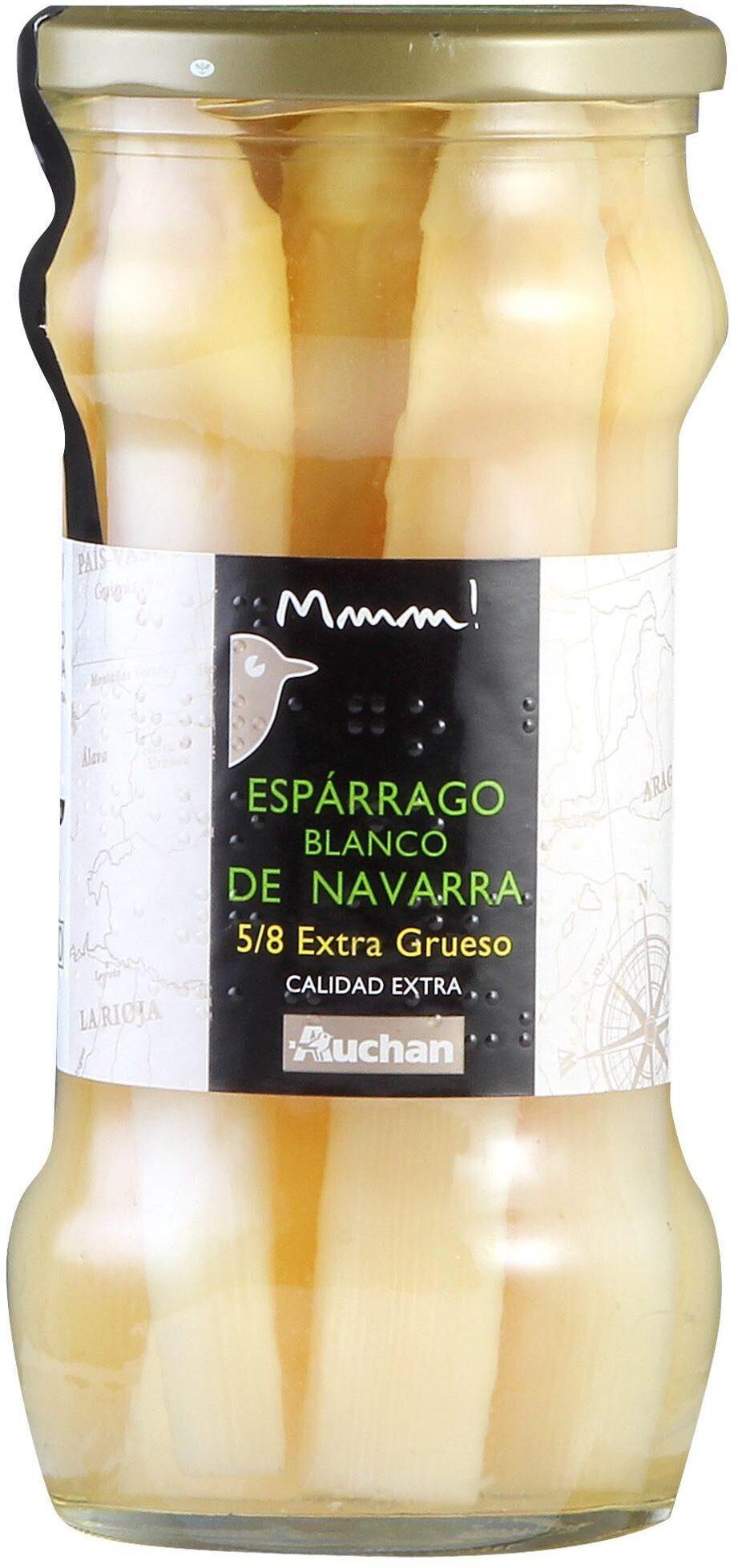 Espárrago blanco de Navarra - Producte