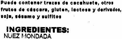 Nueces - Ingredients - es