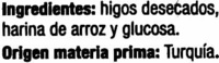 """Higos secos """"Casa Pons"""" - Ingredientes - es"""
