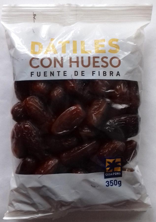 Dátiles con hueso - Produit - es