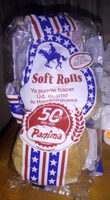 6 Soft rolls Panima - Product - es