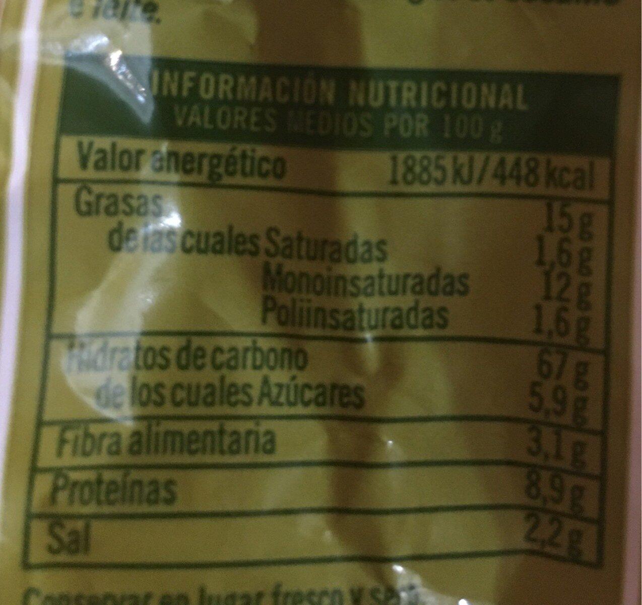 Picos - Brotsticks Mit Olivenöl - Información nutricional - fr