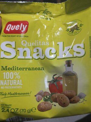 Quelitas snacks mediterranean - Product