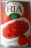 Tomates pelées concassées (Cubitos de Tomate) - Produit