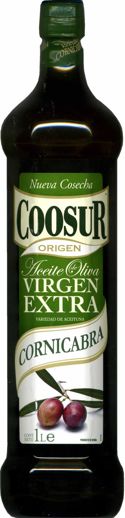 Aceite de oliva virgen extra Variedad Cornicabra - Producte - es