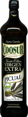 Aceite de oliva virgen extra Picual intenso botella 1 l - Producto