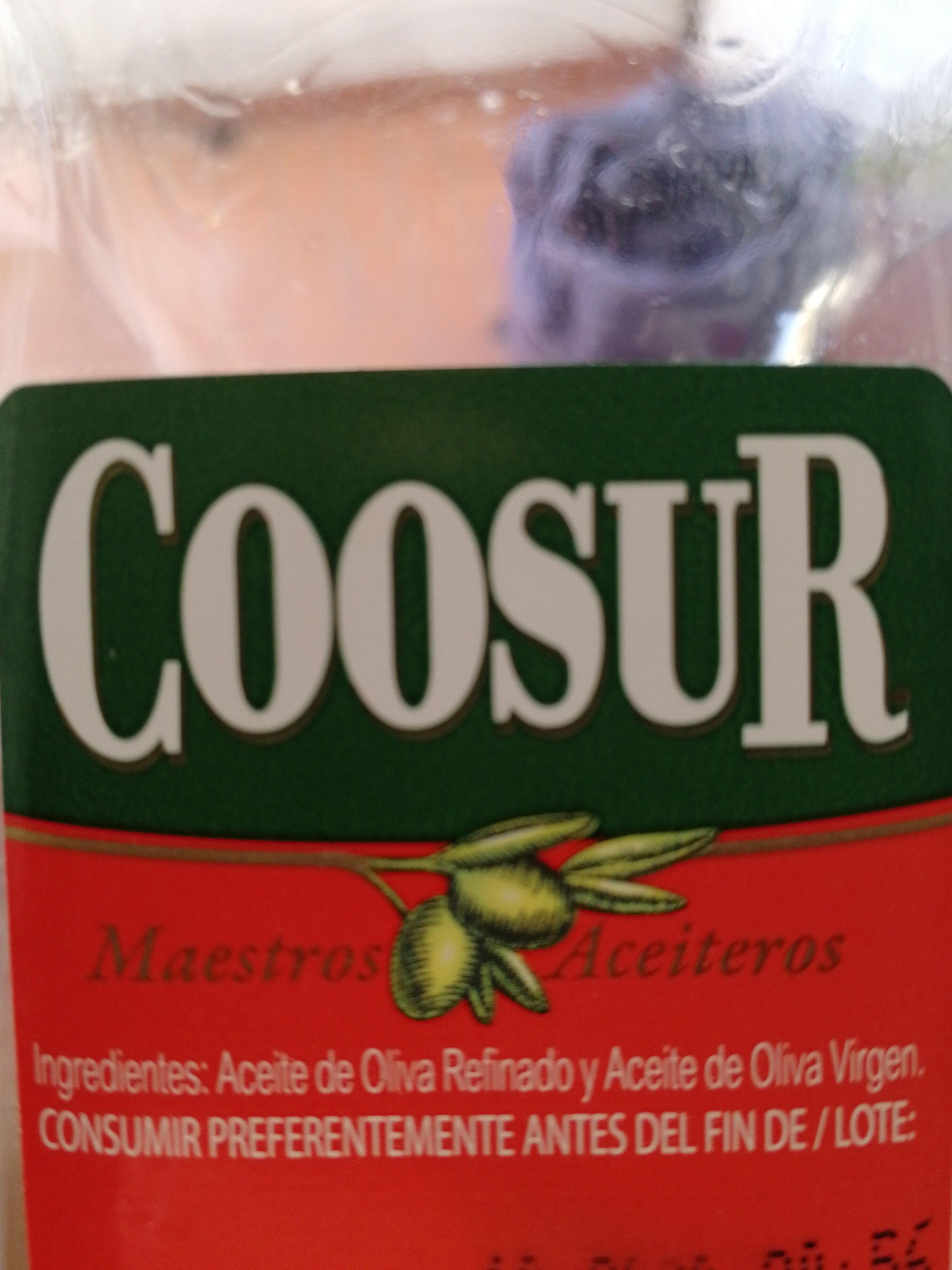 El aceite de oliva Coosur - Ingredients