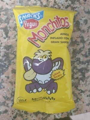 Monchitos Pegui Arroz Inflado 23GR - Producto - fr